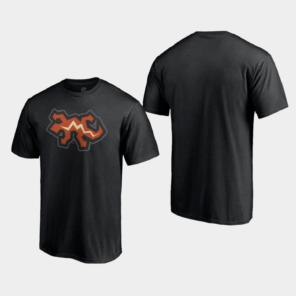 Men's Reverse Retro Black Arizona Coyotes T-Shirt