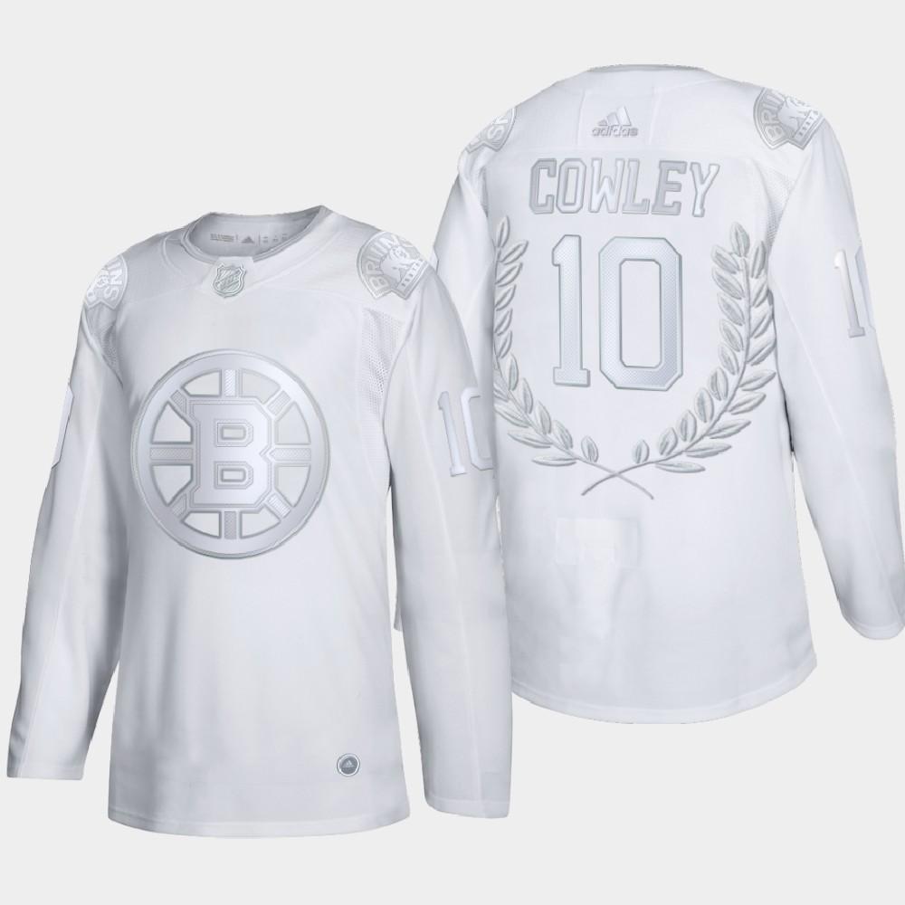 White Men's Jersey Boston Bruins Award Bill Cowley