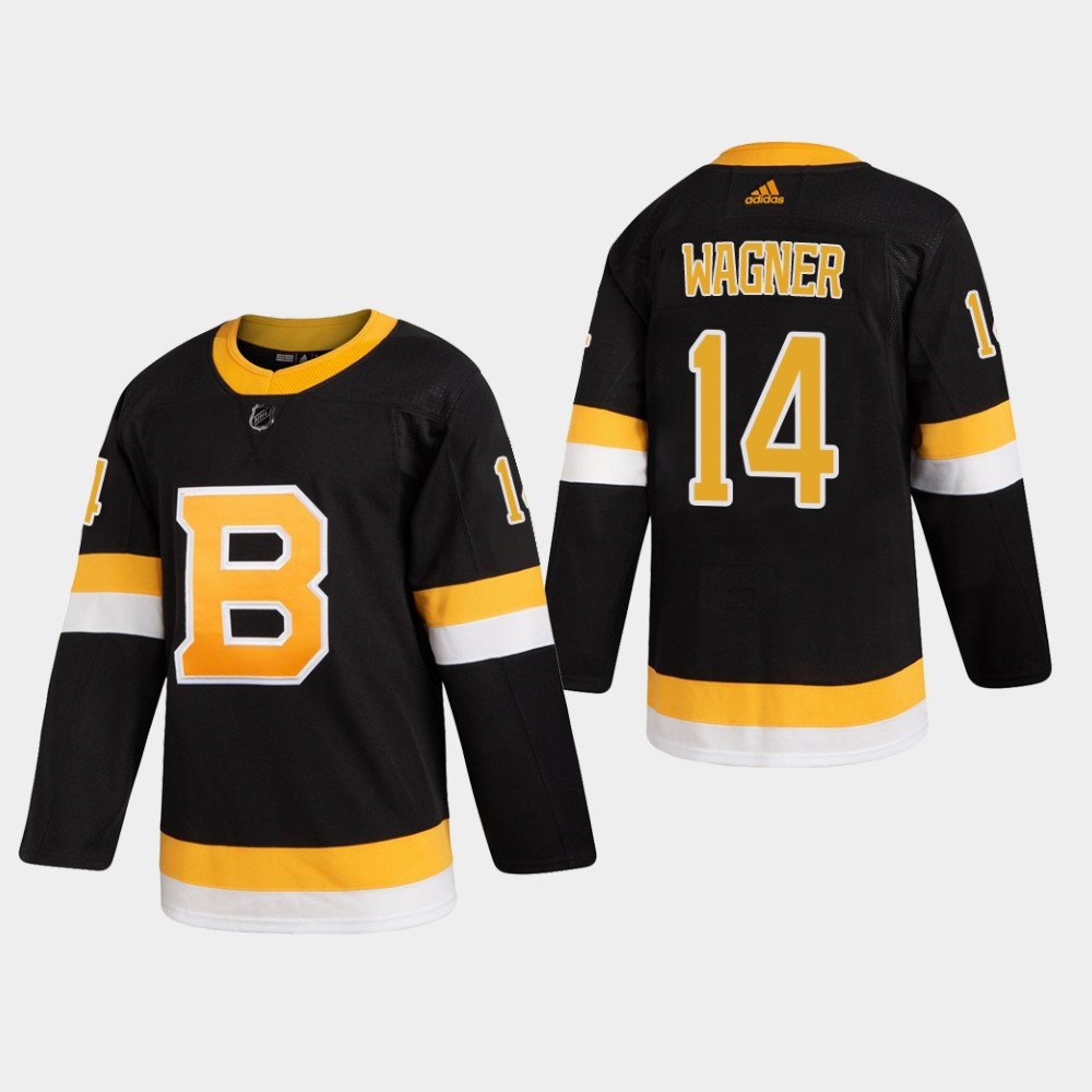 Men's Jersey Black Alternate Boston Bruins Chris Wagner