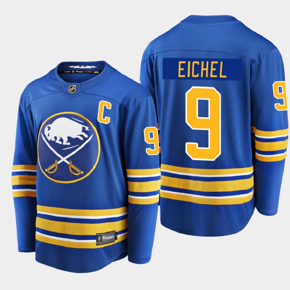 Men's Jersey Home Buffalo Sabres Royal Jack Eichel