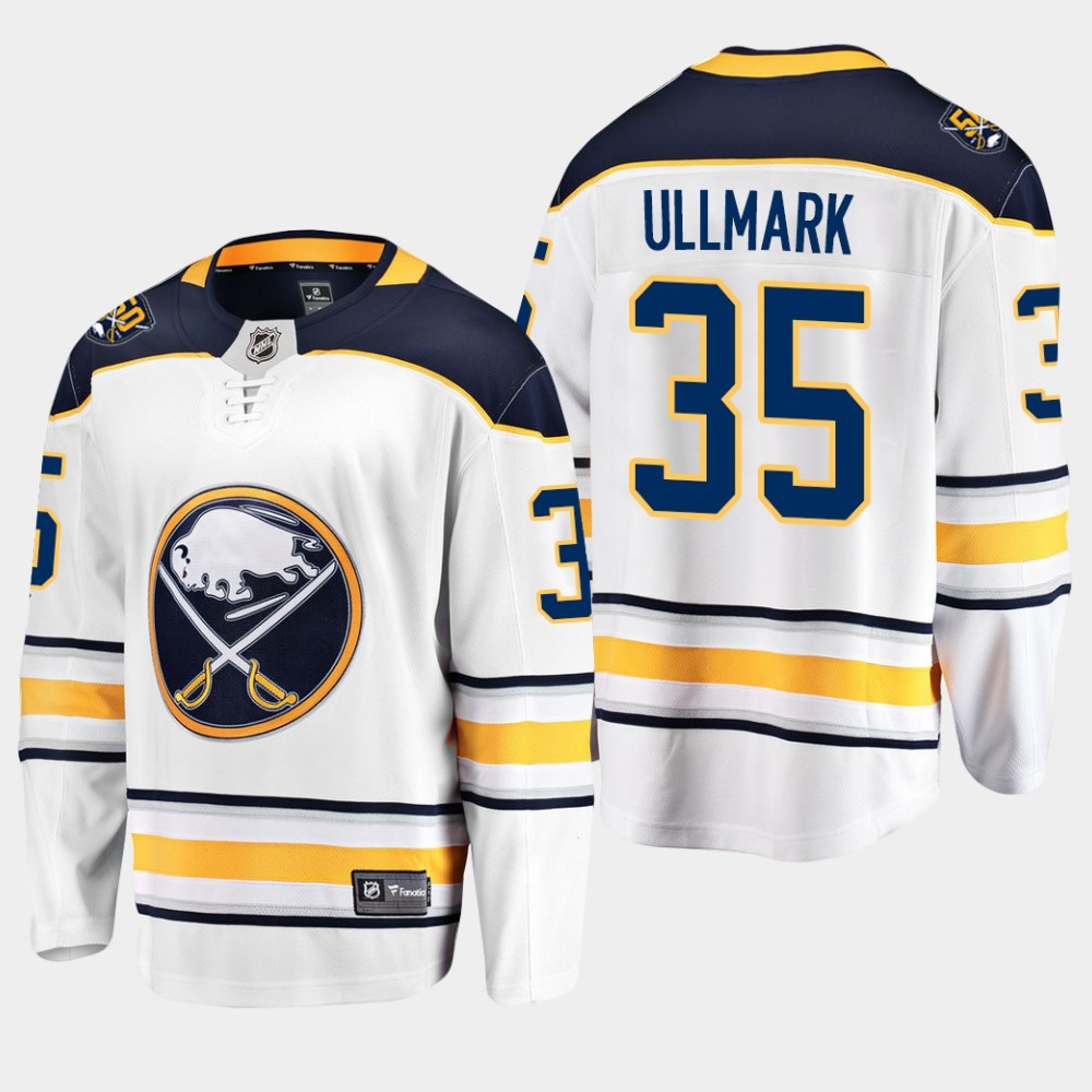 White Jersey 50th Anniversary Youth Buffalo Sabres Linus Ullmark