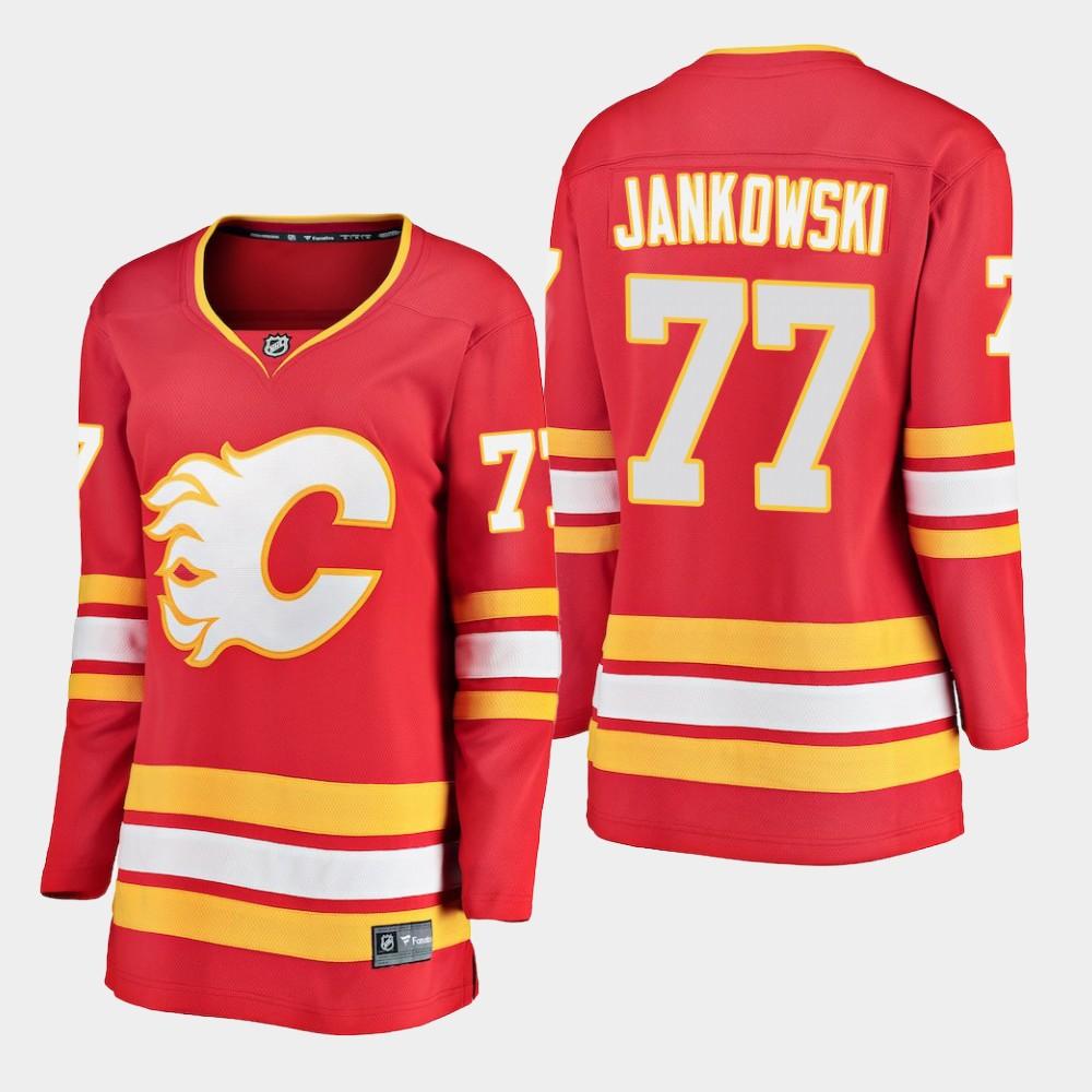 Jersey Red Alternate Women's Calgary Flames Mark Jankowski