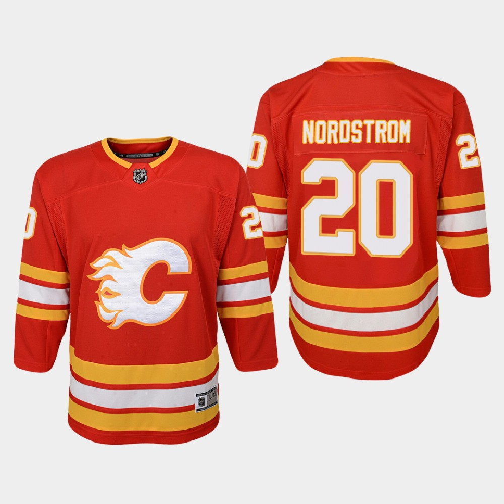 Jersey Red Home Youth Calgary Flames Joakim Nordstrom