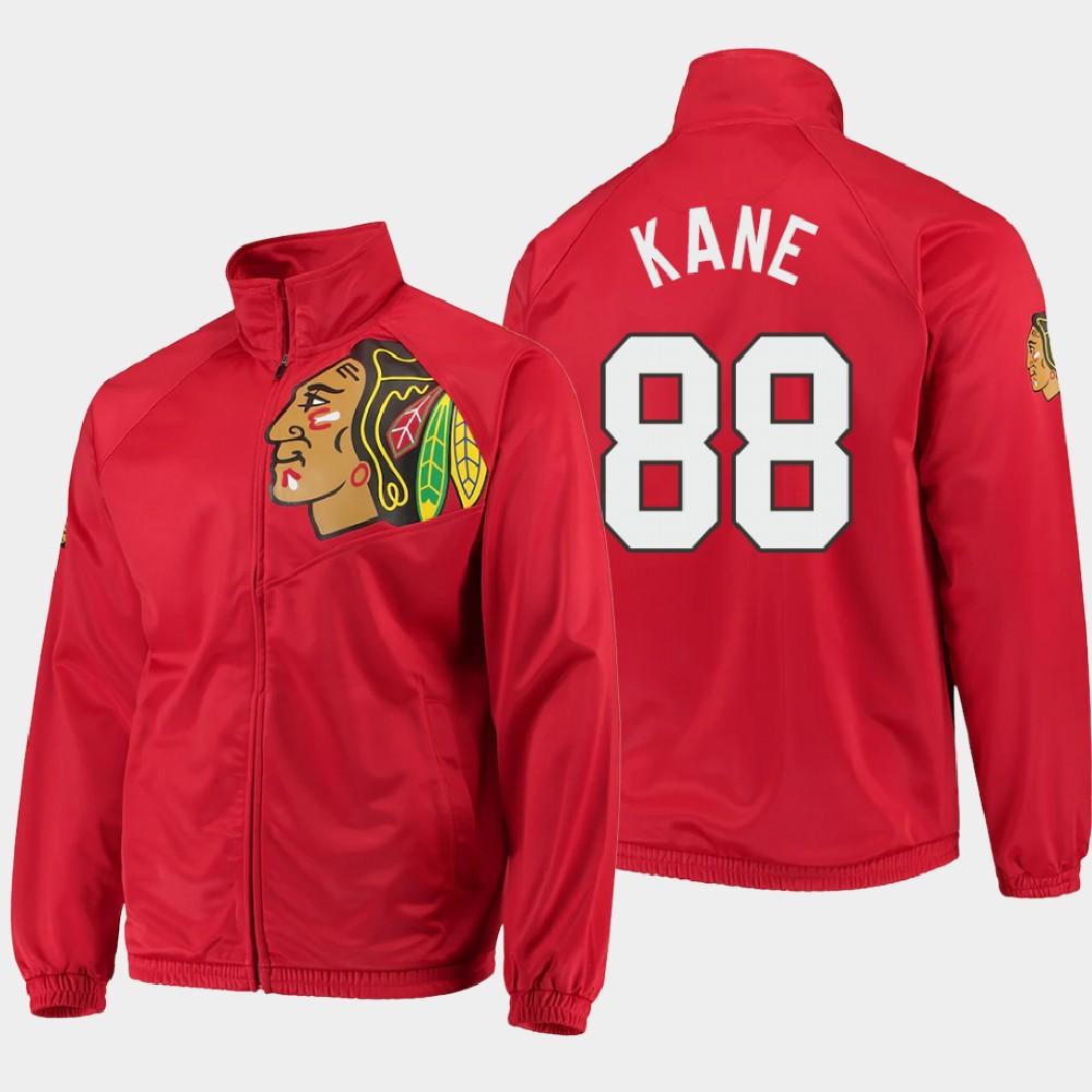 Men's Red Chicago Blackhawks Patrick Kane Jacket G-III Sports