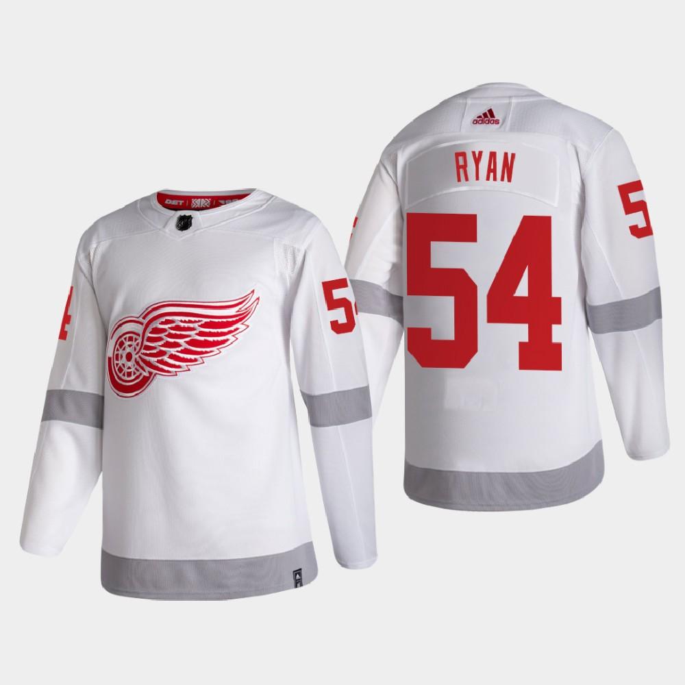 White Men's Jersey Reverse Retro Detroit Red Wings Bobby Ryan
