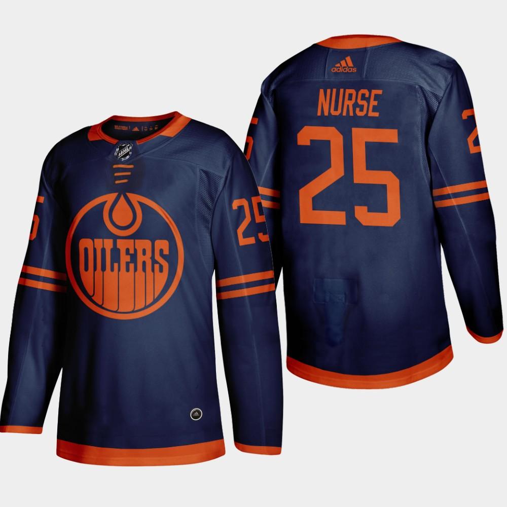 Men's Jersey Blue Alternate Edmonton Oilers Darnell Nurse