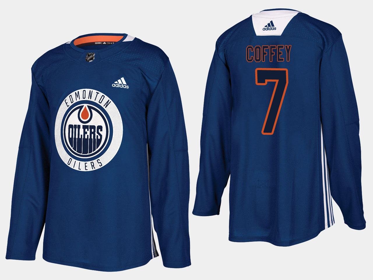 Men's Jersey Home Edmonton Oilers Royal Paul Coffey