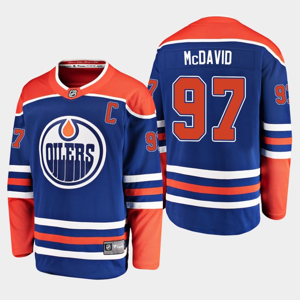 Jersey Alternate Youth Edmonton Oilers Royal Connor McDavid
