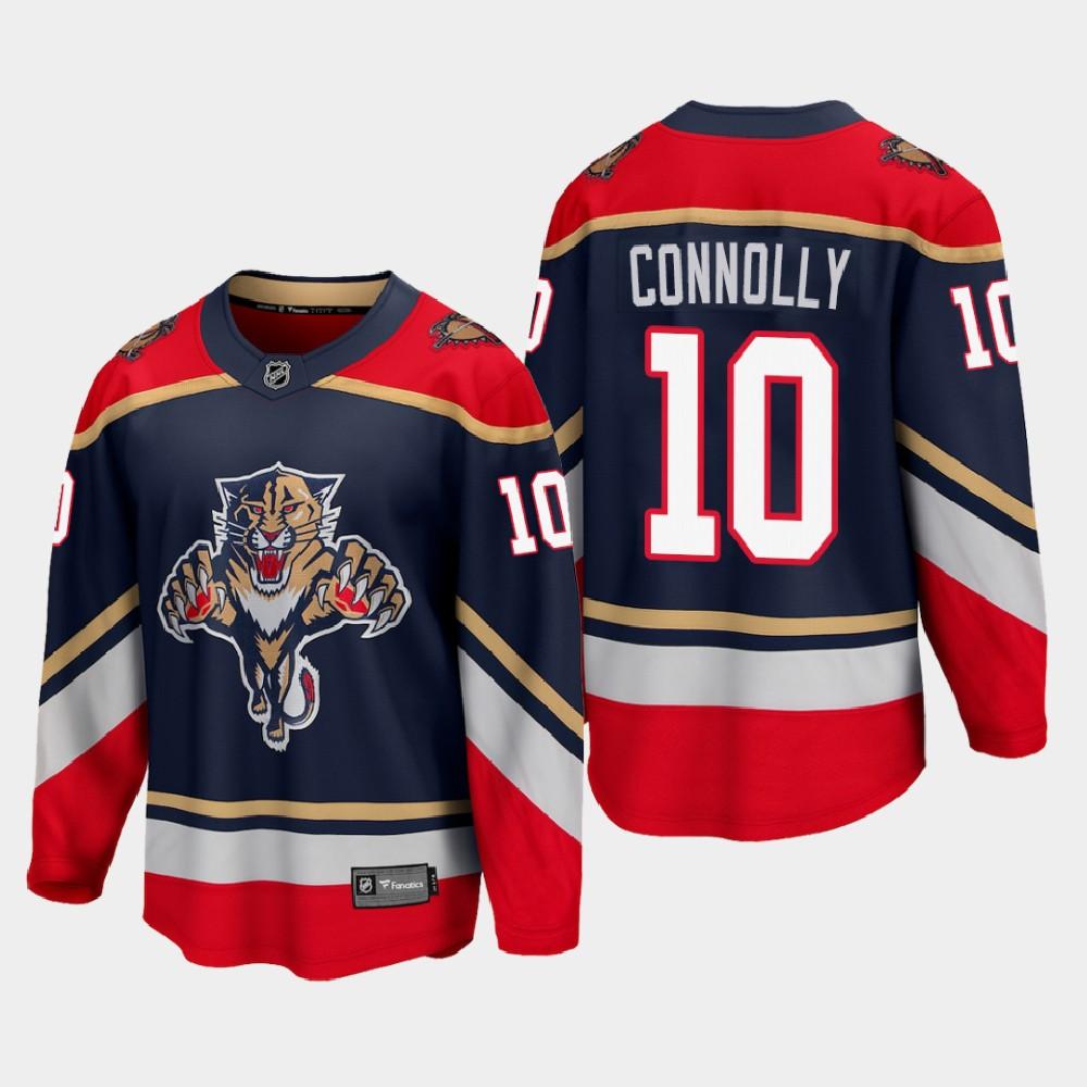 Men's Jersey Blue Reverse Retro Brett Connolly Florida Panthers