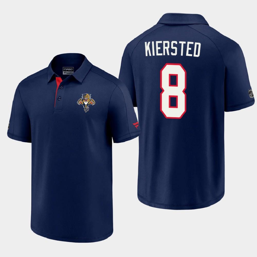Men's Blue Reverse Retro Florida Panthers Matt Kiersted Polo