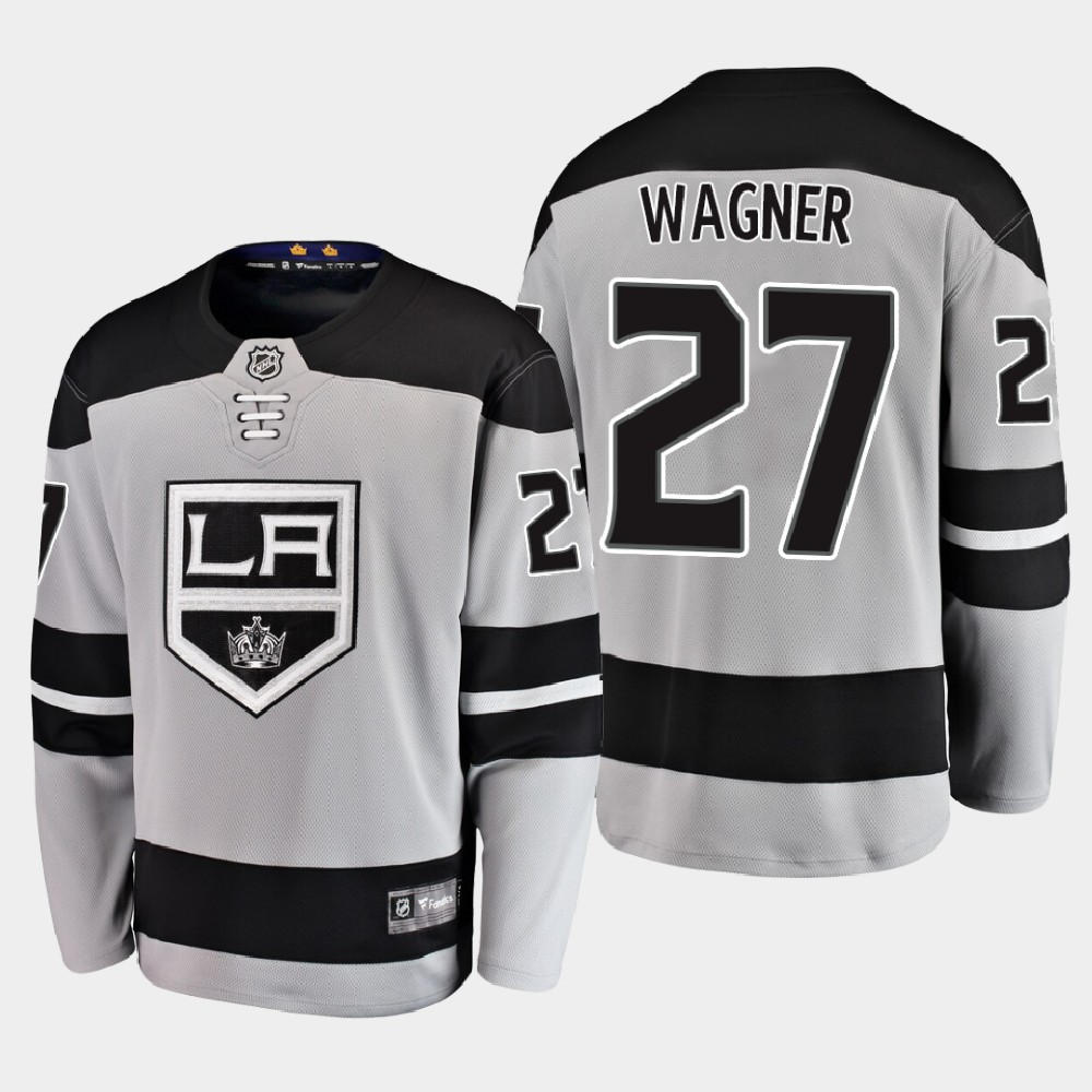 Men's Jersey Los Angeles Kings Alternate Gray Austin Wagner