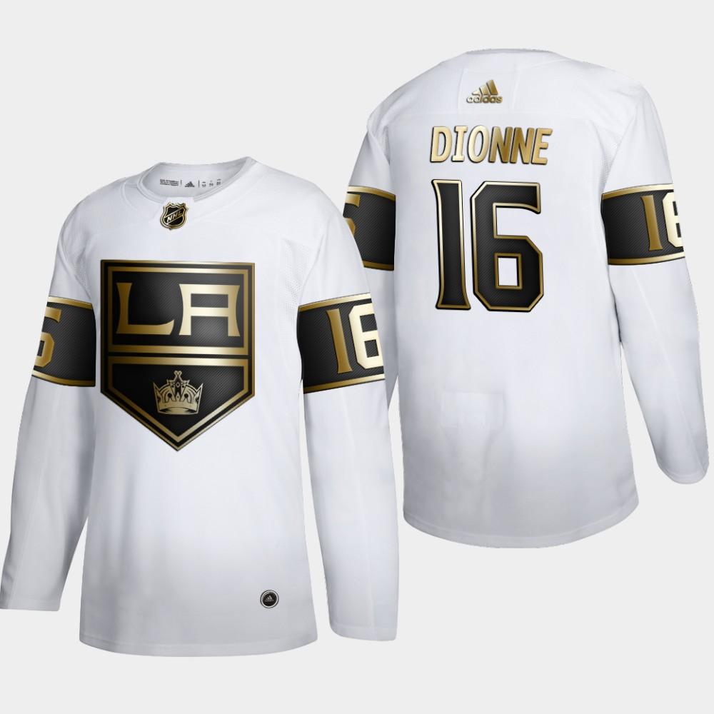 White Men's Jersey Los Angeles Kings NHL Golden Edition Marcel Dionne