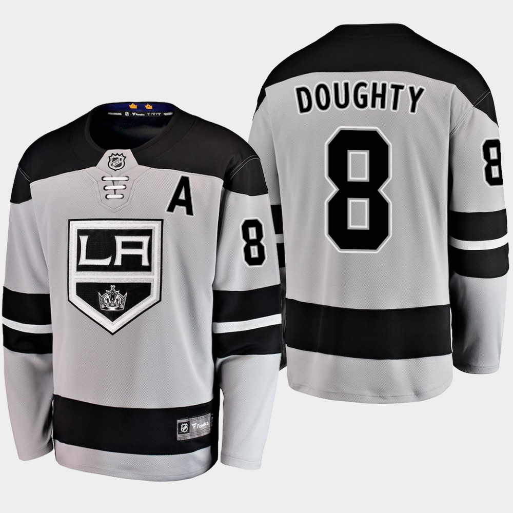 Men's Jersey Los Angeles Kings Alternate Drew Doughty Gray