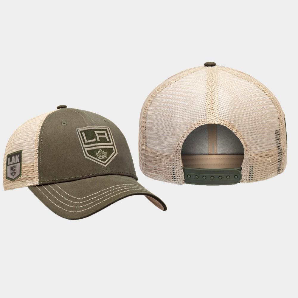 Men's Los Angeles Kings Green Hat Modern Utility