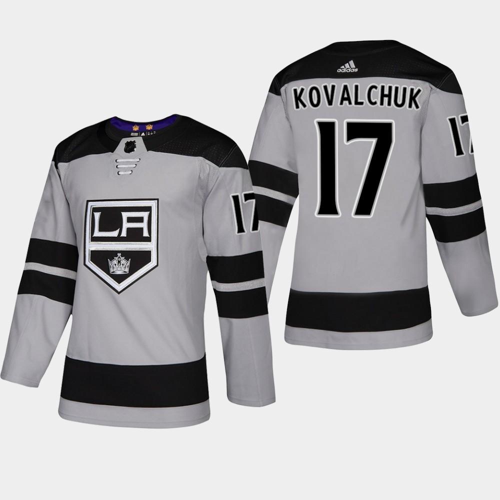 Men's Jersey Los Angeles Kings Alternate Gray Ilya Kovalchuk