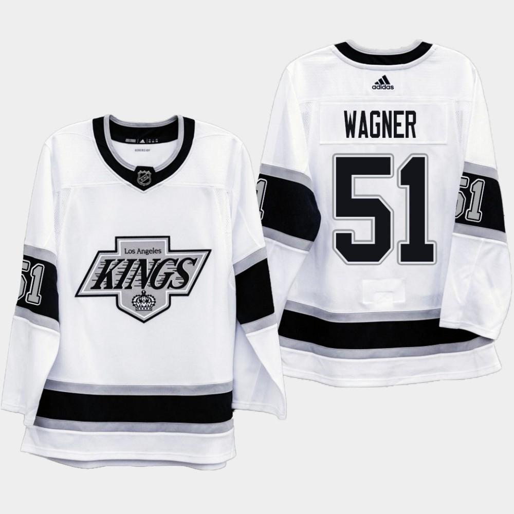 White Men's Jersey Los Angeles Kings Heritage Austin Wagner