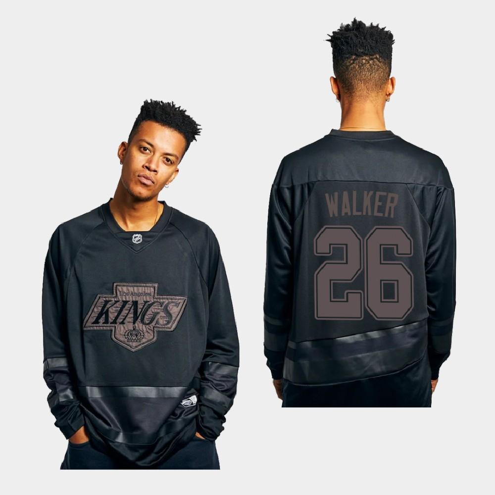 Men's Jersey Los Angeles Kings Sean Walker Triple Black Replica