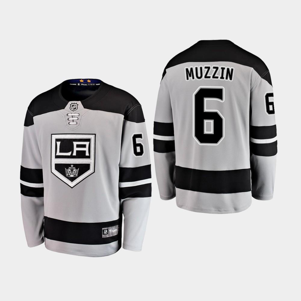 Jersey Los Angeles Kings Alternate Youth Gray Jake Muzzin