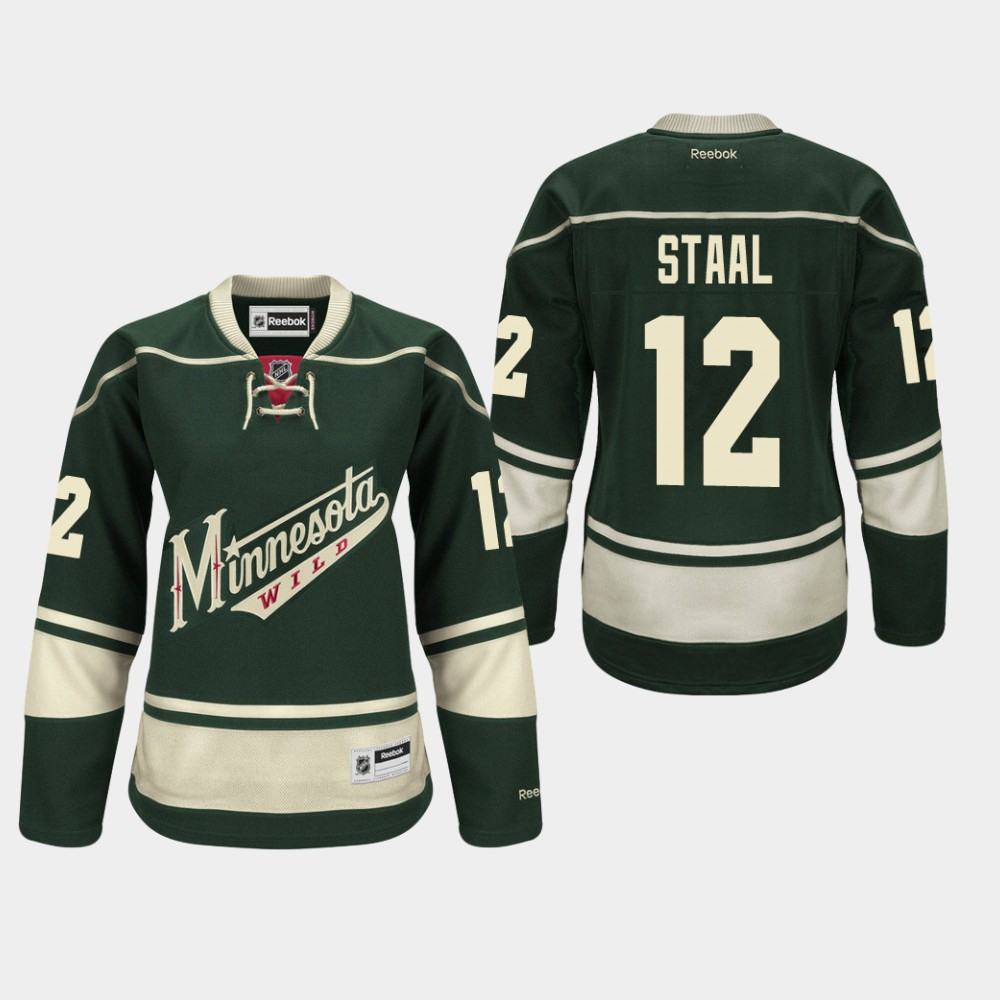 Jersey Alternate Green Women's Minnesota Wild Eric Staal