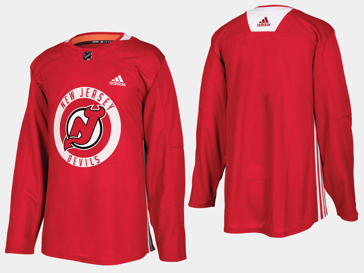 Men's Jersey New Jersey Devils Red Home