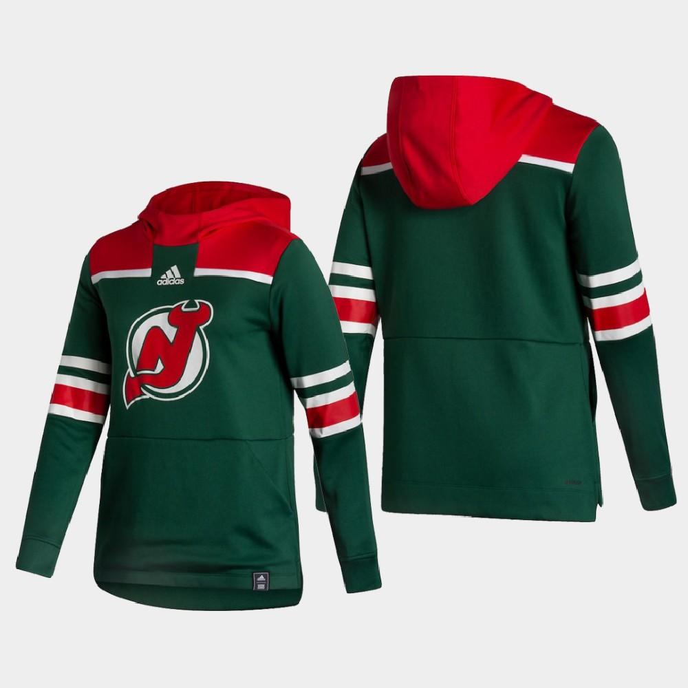 Reverse Retro New Jersey Devils Green Women's Hoodie