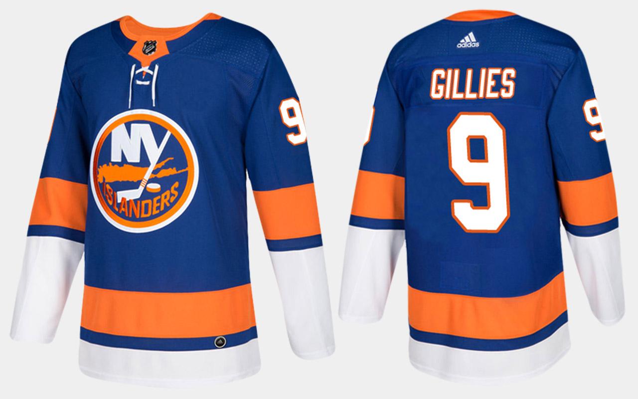 Men's Jersey Blue Home New York Islanders Clark Gillies
