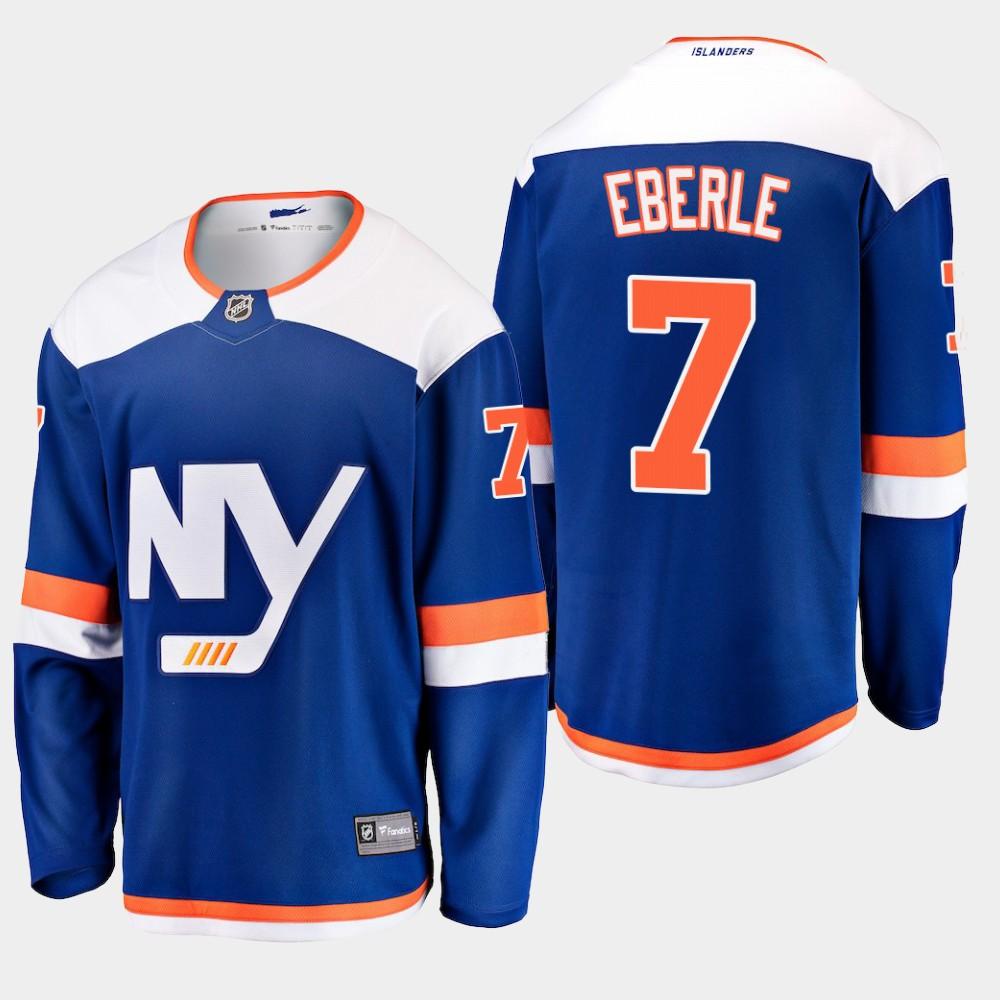 Men's Jersey Blue Alternate New York Islanders Jordan Eberle