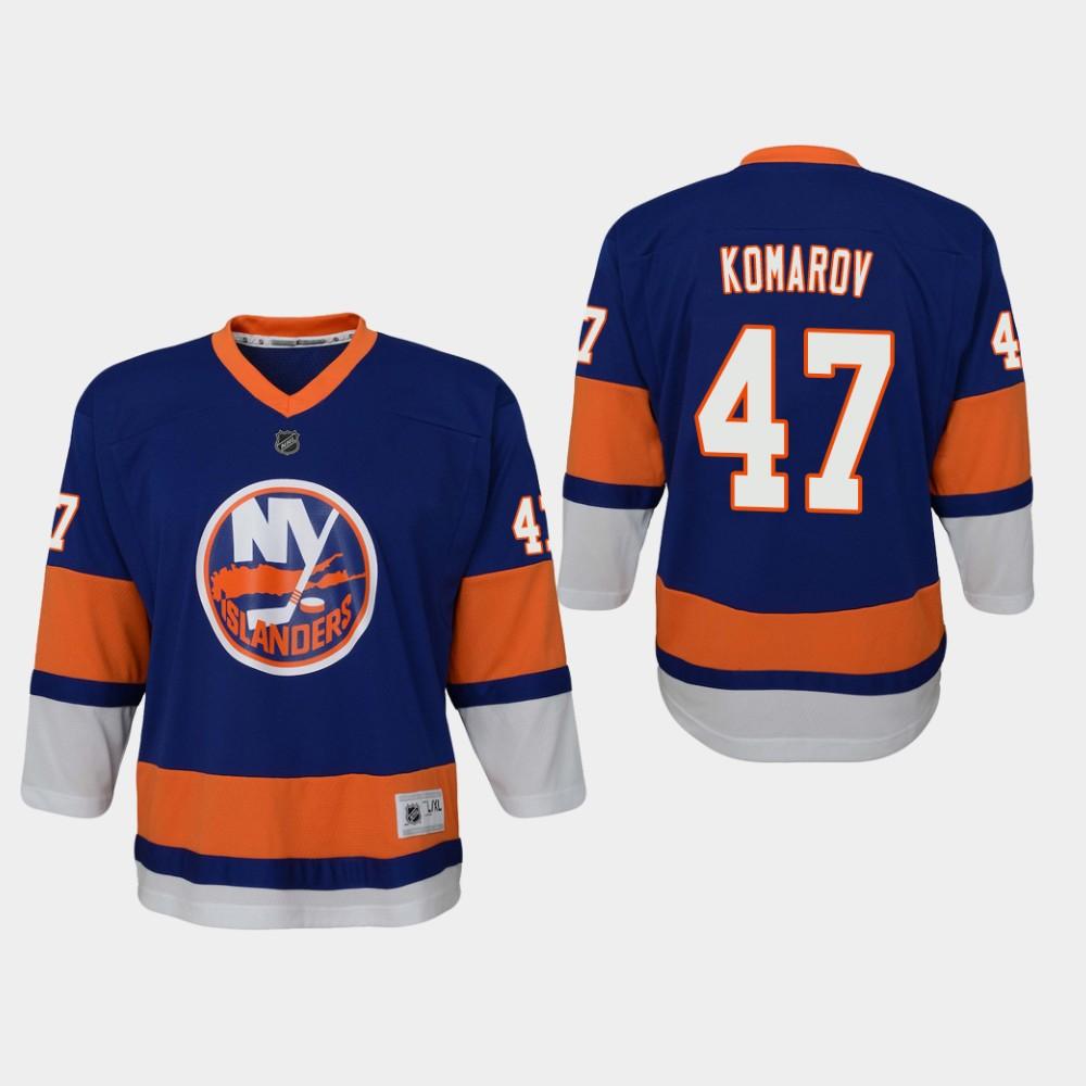Jersey Home New York Islanders Royal Leo Komarov Preschool
