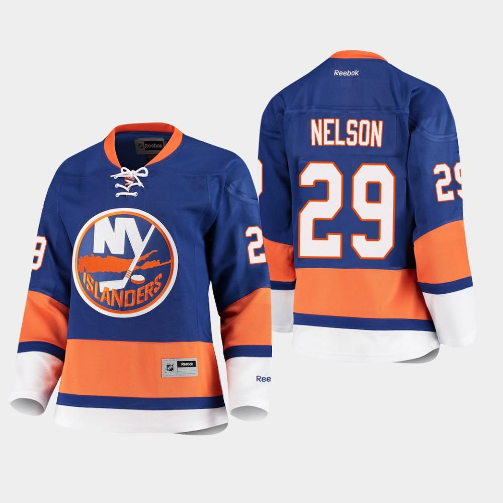 Jersey Women's New York Islanders Royal Premier Brock Nelson