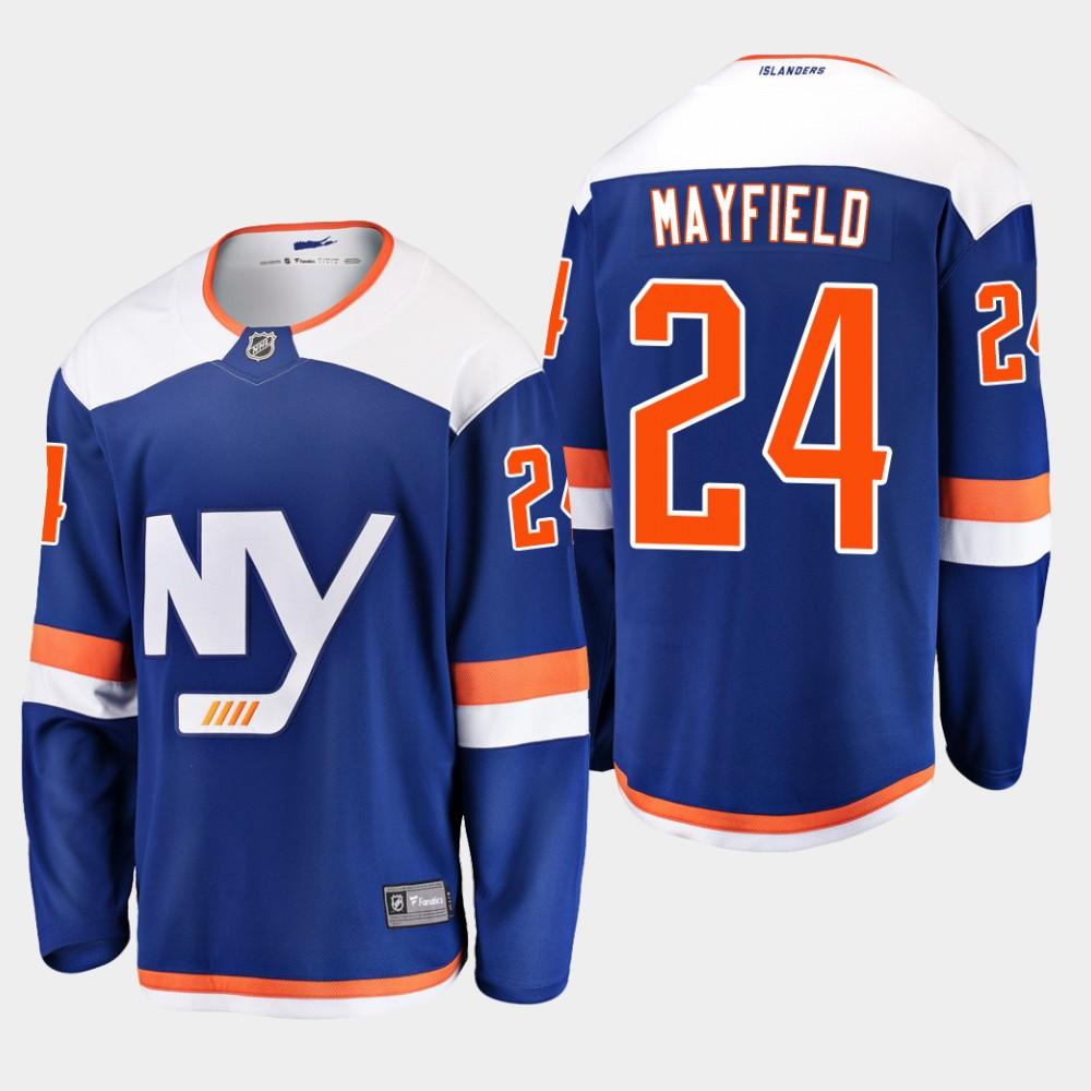 Jersey Blue Alternate Youth New York Islanders Scott Mayfield
