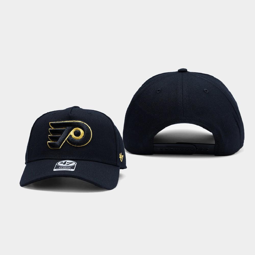 Men's Black Philadelphia Flyers Hat Snapback