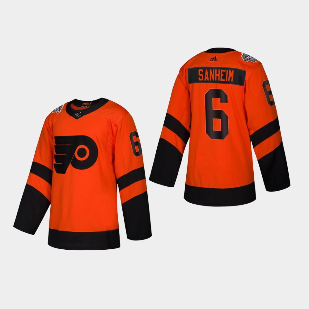 Jersey Youth Philadelphia Flyers Travis Sanheim orange