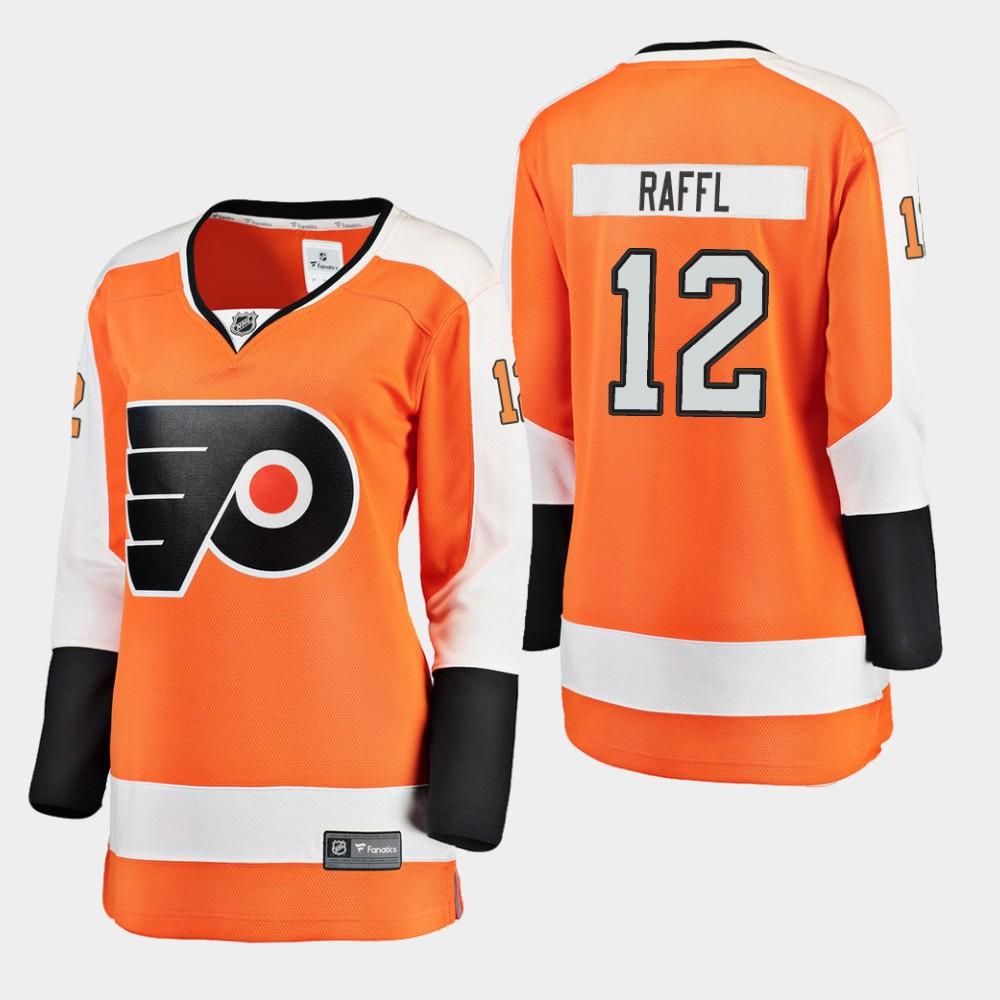 Jersey Home Women's Michael Raffl Philadelphia Flyers Orange