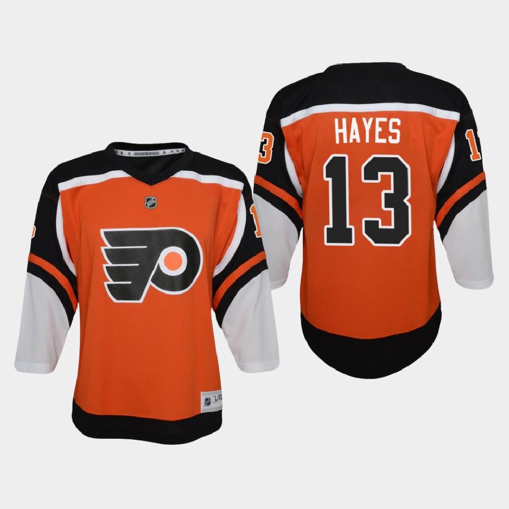 Jersey Reverse Retro Youth Philadelphia Flyers Orange Kevin Hayes