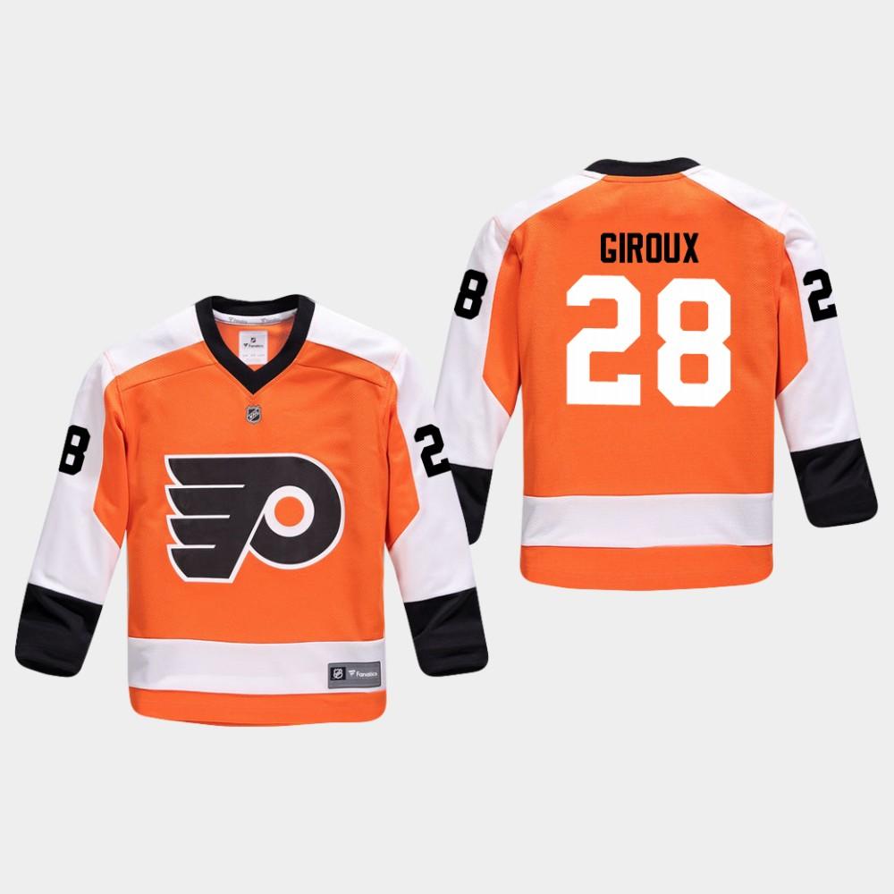 Jersey Home Youth Philadelphia Flyers Orange Claude Giroux