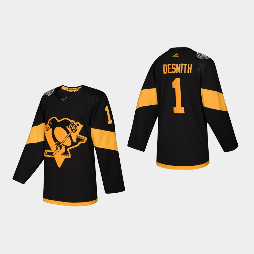 Jersey Black Youth Pittsburgh Penguins Casey DeSmith