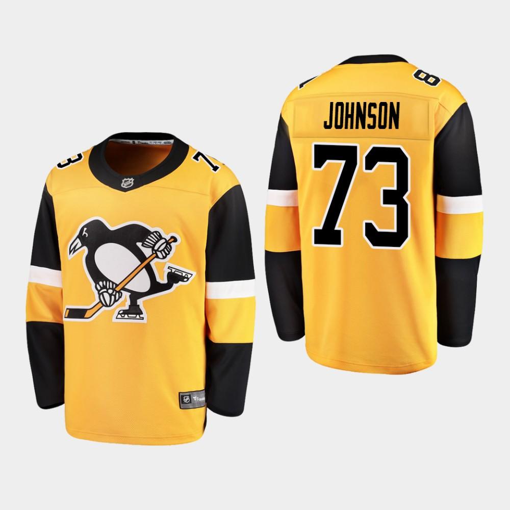 Jersey Alternate Youth Pittsburgh Penguins gold Jack Johnson