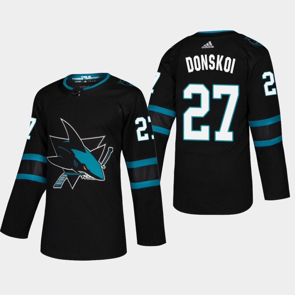 Men's Jersey Black Alternate San Jose Sharks Joonas Donskoi