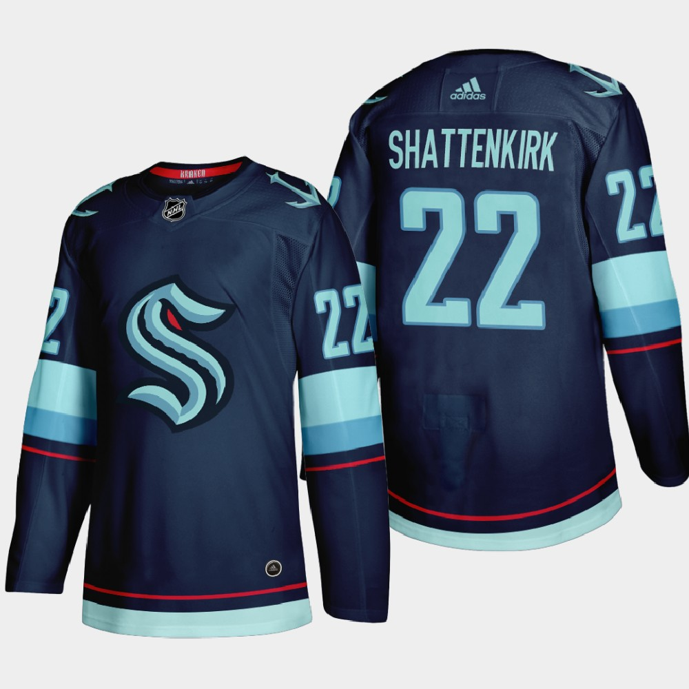 Men's Jersey Seattle Kraken Navy 2021 Expansion Draft Kevin Shattenkirk