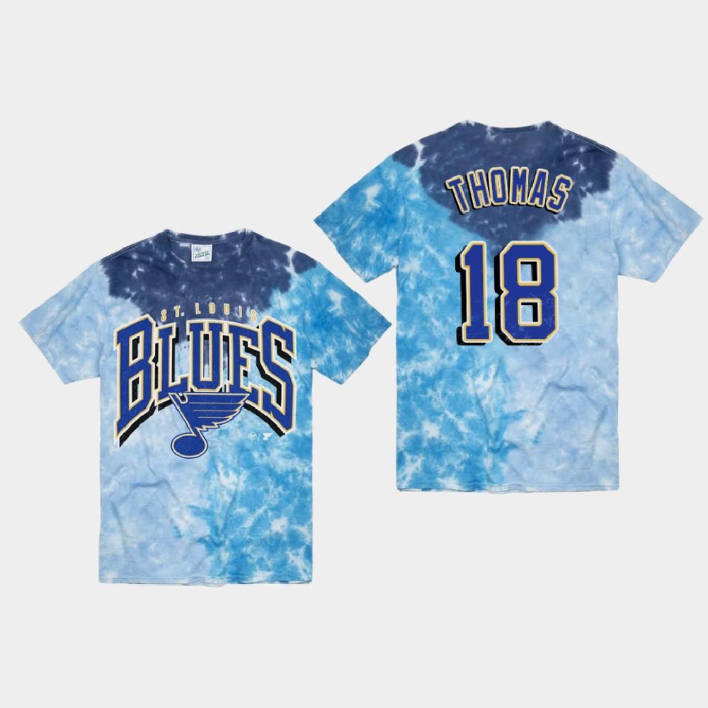 Men's Blue St. Louis Blues Robert Thomas T-Shirt Vintage Tubular