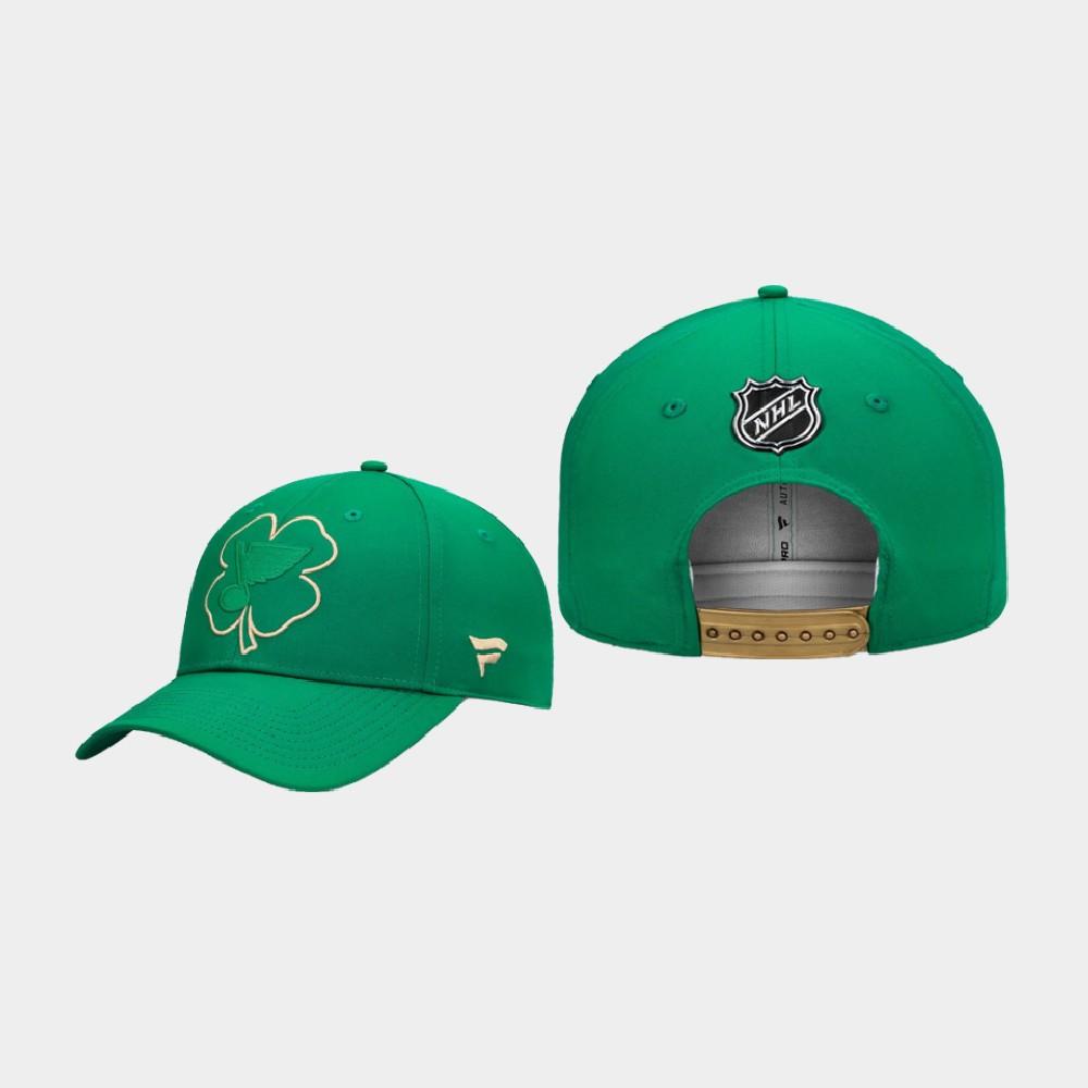 Men's St. Louis Blues St. Patrick's Day Kelly Green Hat