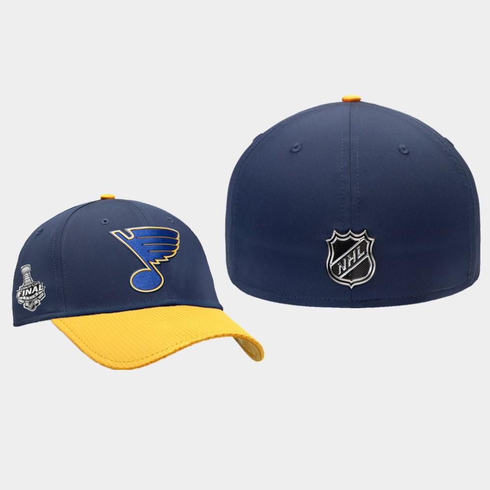 Men's Navy St. Louis Blues 2019 Stanley Cup Champions Hat