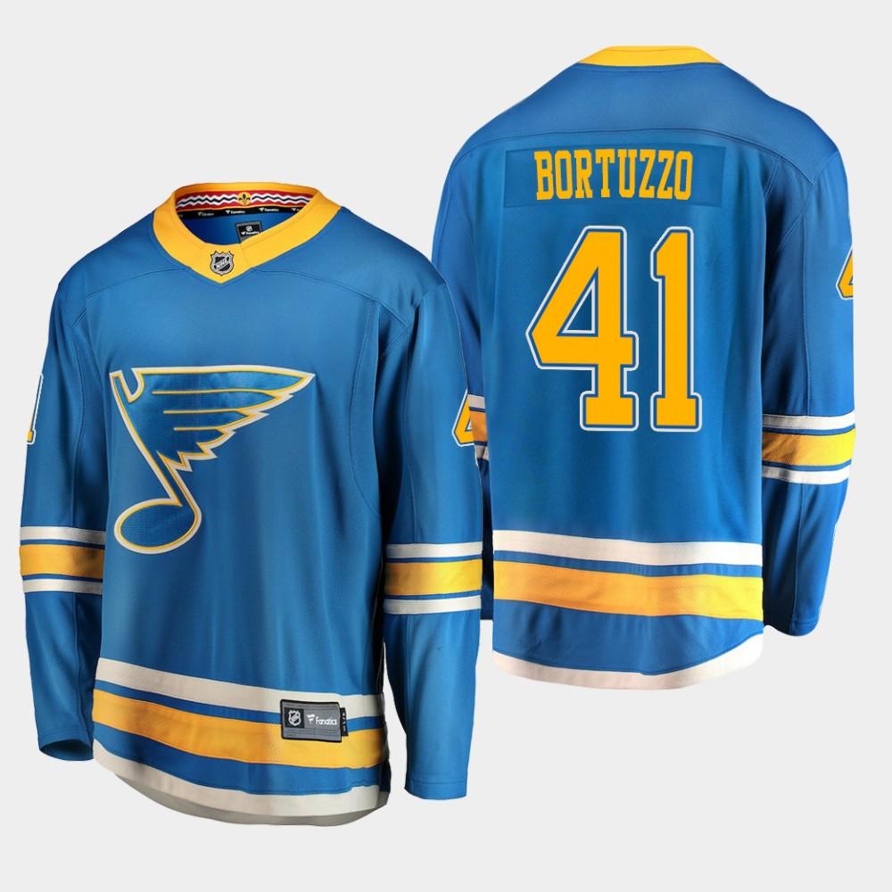 Men's Jersey Blue Alternate St. Louis Blues Robert Bortuzzo