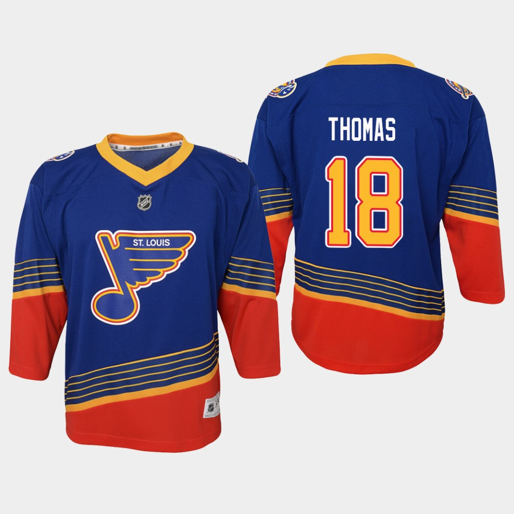 Jersey Blue Youth St. Louis Blues Retro Robert Thomas