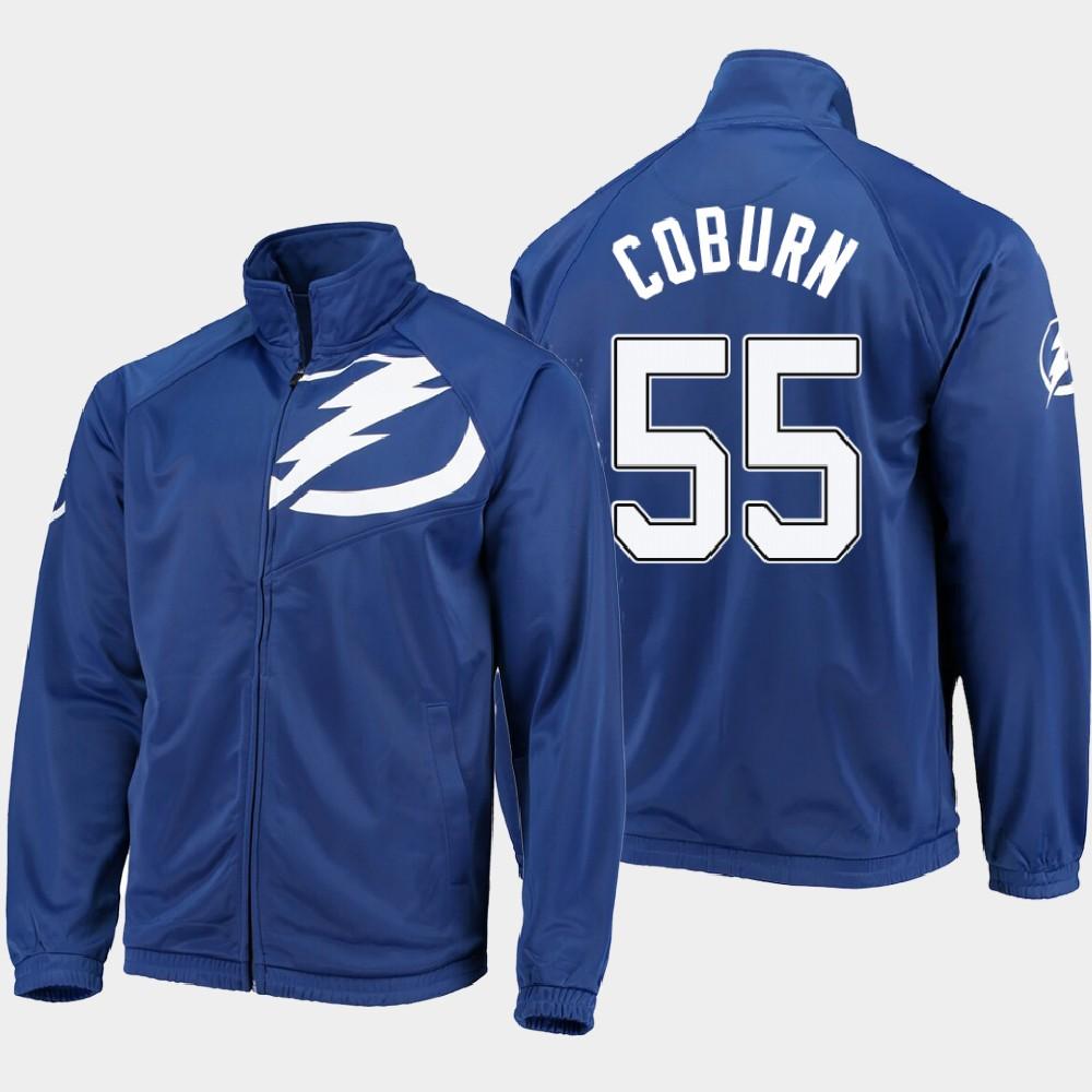 Men's Blue Tampa Bay Lightning Braydon Coburn Jacket G-III Sports