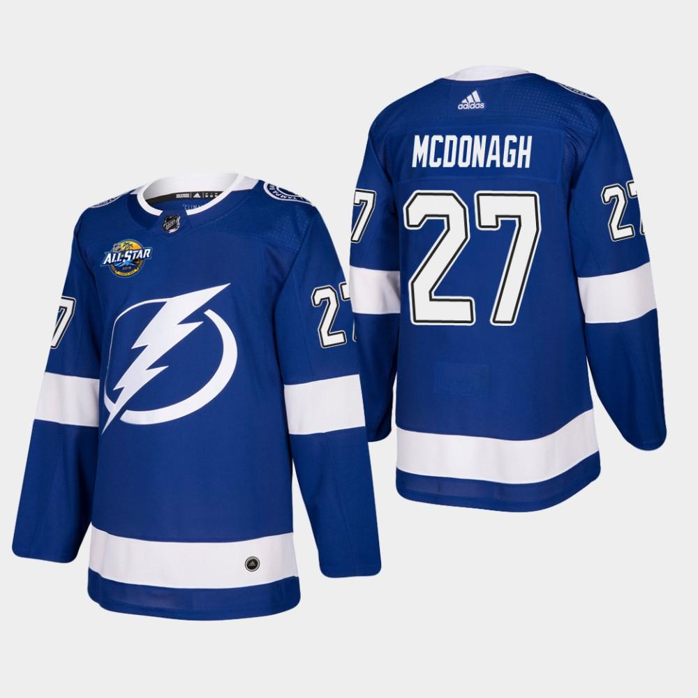 Men's Jersey Blue Home Tampa Bay Lightning Ryan McDonagh