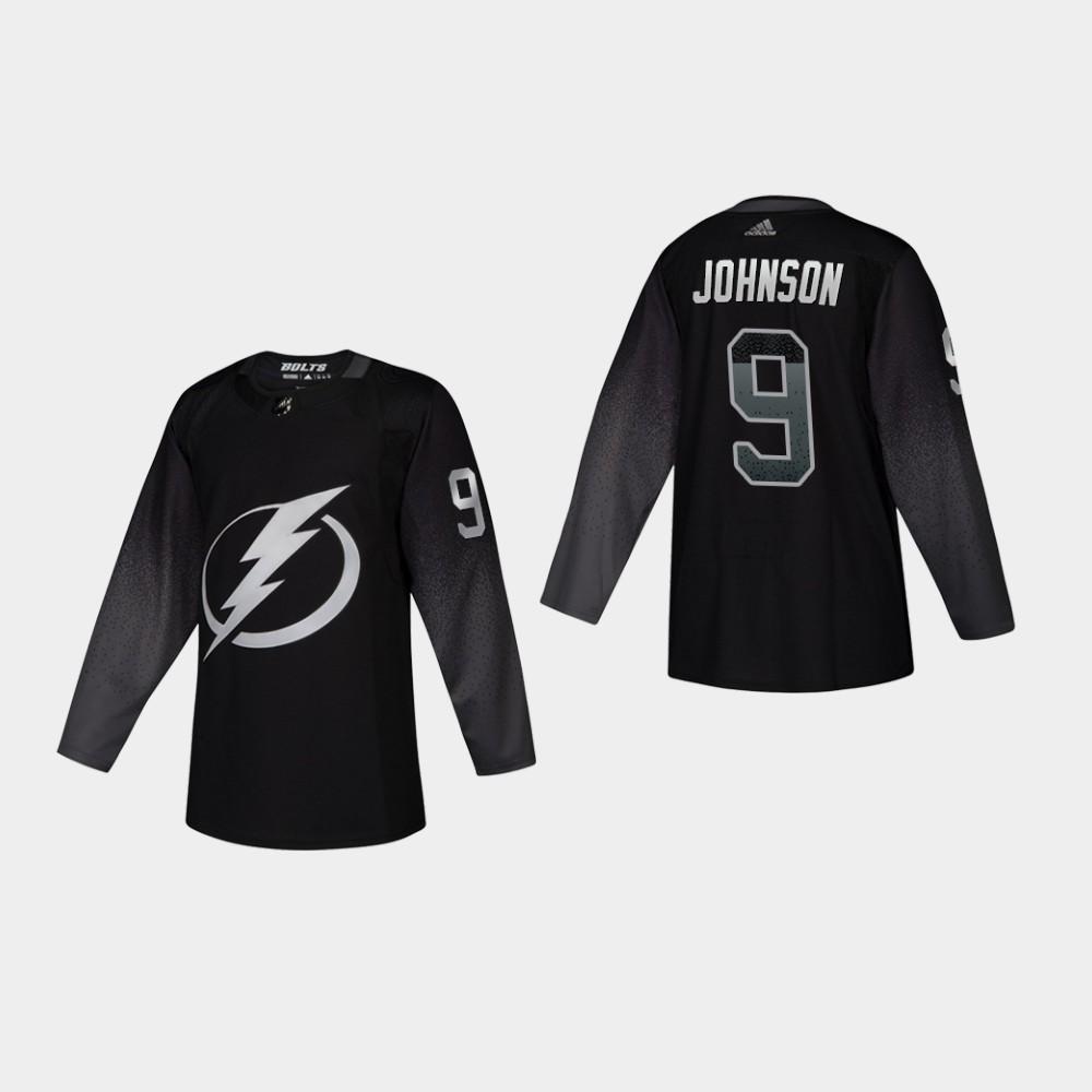 Men's Jersey Black Alternate Tyler Johnson Tampa Bay Lightning