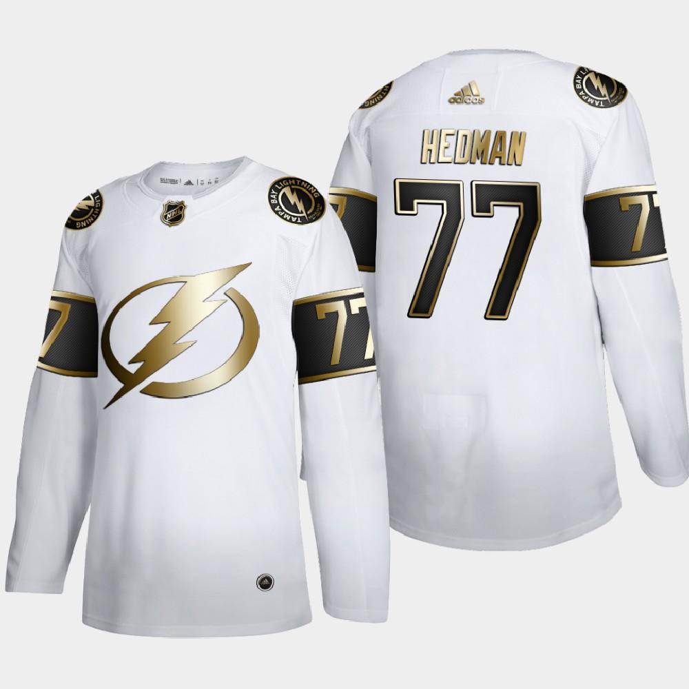 White Men's Jersey Tampa Bay Lightning Victor Hedman NHL 2020 Awards