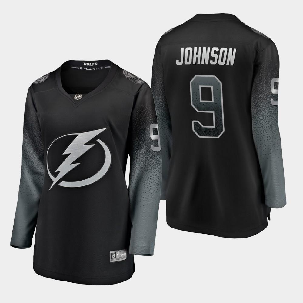 Jersey Black Alternate Tyler Johnson Women's Tampa Bay Lightning