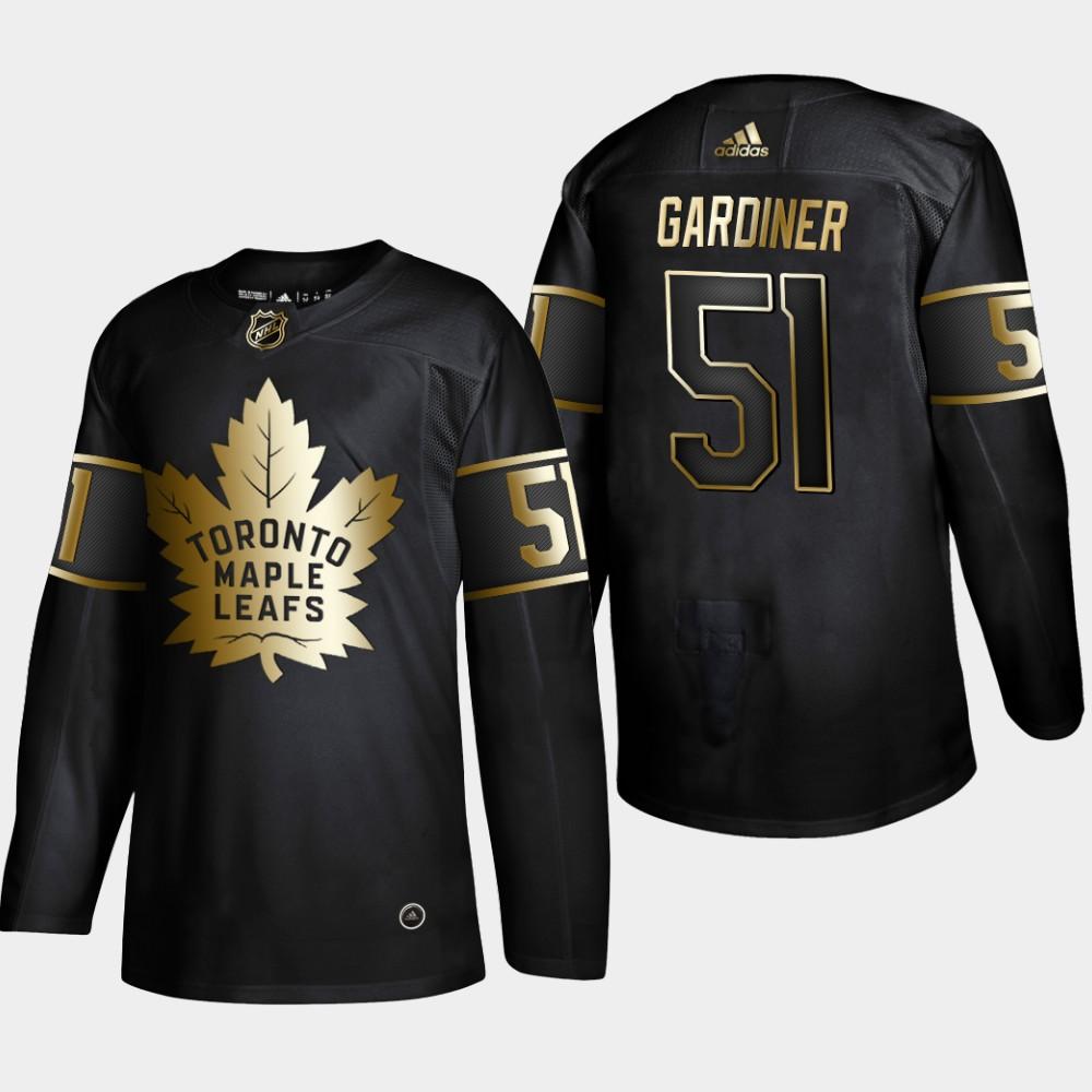 Men's Jersey Toronto Maple Leafs Black Jake Gardiner NHL Golden Edition